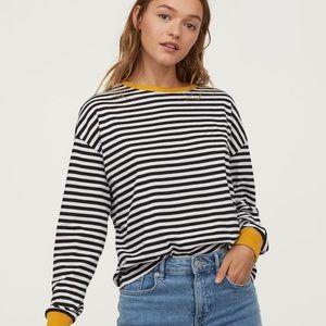 ⭐️2 for $20⭐️EUC H&M striped long sleeve t-shirt